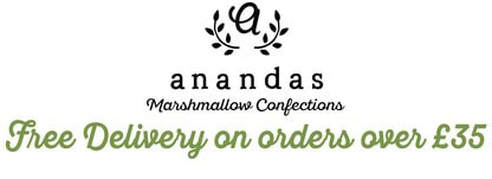 Ananda Foods Vegetarian & Gelatine Free Vegan Marshmallows UK